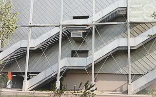 Metalltreppe Einkaufszentrum Metallbau Heinsberg